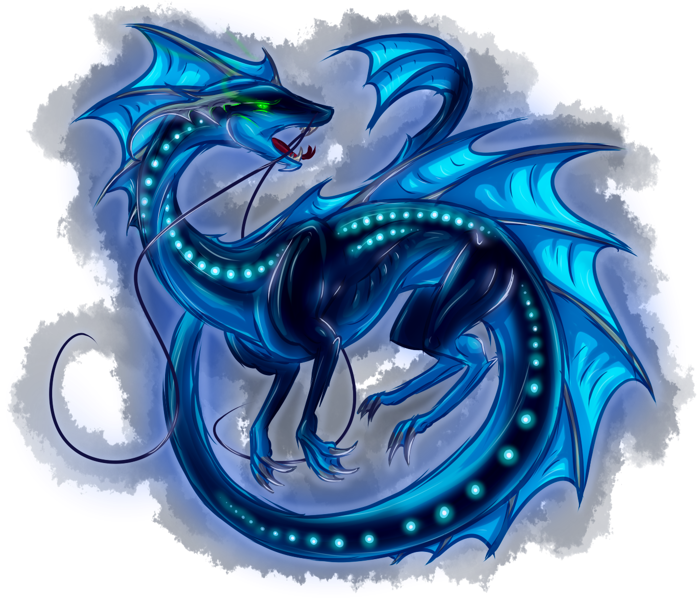 Draconis Fundamentum Wingless Dragon Frilled Rifts